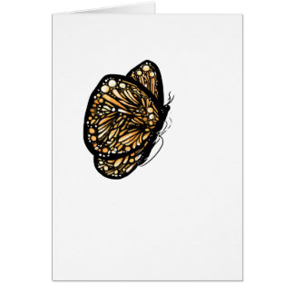 Monarch Butterfly , Just Landed Card