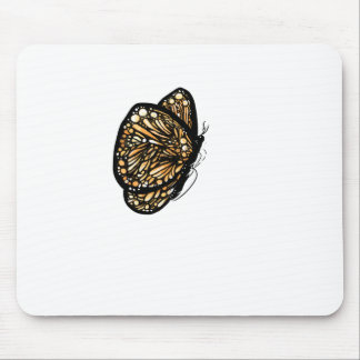 Monarch Butterfly , Just Landed Mousepads