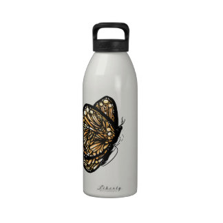 Monarch Butterfly , Just Landed Reusable Water Bottles