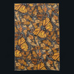 """Monarch Butterfly Kitchen Towel<br><div class=""""desc"""">Monarch butterflies will delight gardeners and butterfly enthusiasts.</div>"""