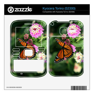 Monarch Butterfly Kyocera Torino (S2300) Skin Decals For Kyocera Torino