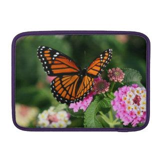 "Monarch Butterfly Lantana 11"" Macbook Air Sleeve"