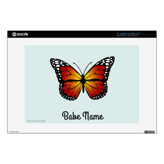 Monarch Butterfly Laptop Decal