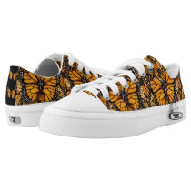 Monarch Butterfly Madness Low-Top Sneakers