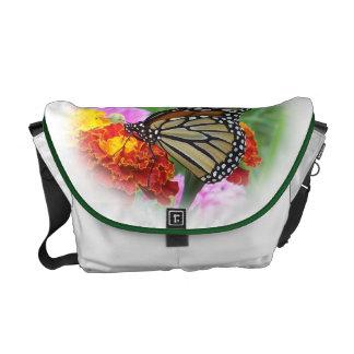 Monarch Butterfly Messenger Bag