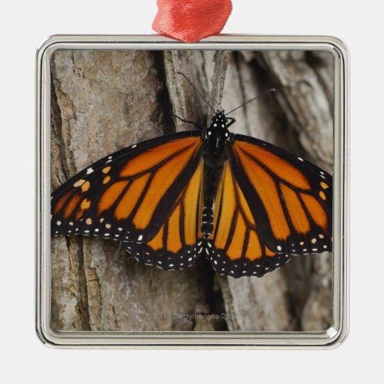 Monarch Butterfly Metal Ornament