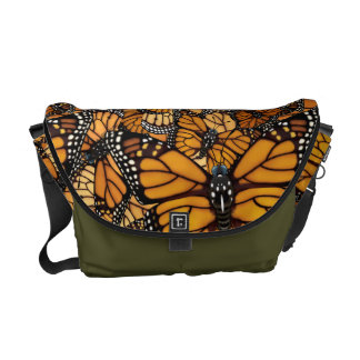 Monarch Butterfly Migration Courier Bag