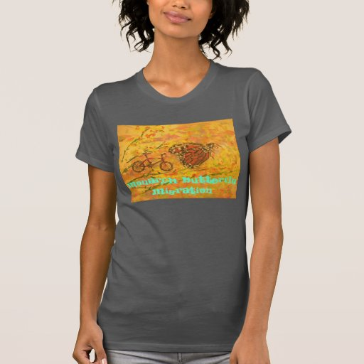 monarch butterfly migration tshirt