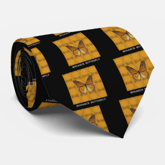 Monarch Butterfly Neck Tie