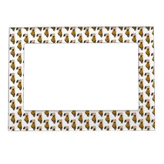 Monarch Butterfly Newborn Wallpaper Pattern Magnetic Photo Frame