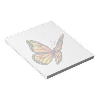 Monarch butterfly Notepad (2) sizes
