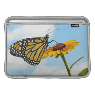 Monarch Butterfly on a Black Eyed Susan Sleeve For MacBook Air