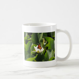 Monarch Butterfly on a Lily Pad Mug