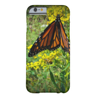 Monarch Butterfly on a Yellow Flower Barely There iPhone 6 Case