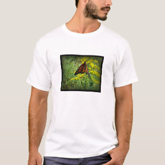 Monarch Butterfly on a Yellow Flower T-Shirt