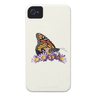 Monarch Butterfly on Asters iPhone 4 Case