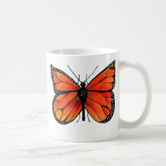 Monarch Butterfly on Coffee/Tea Mug