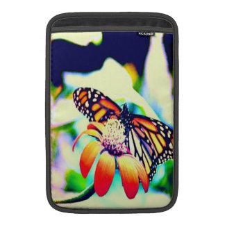 Monarch Butterfly On Flower MacBook Sleeve