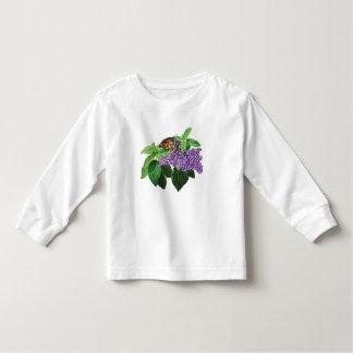 Monarch Butterfly on Heliotrope Kids T-shirt