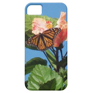 Monarch Butterfly on Hibiscus in Sunshine iPhone SE/5/5s Case