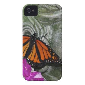 Monarch Butterfly on Kwan Yin Case-Mate iPhone 4 Case