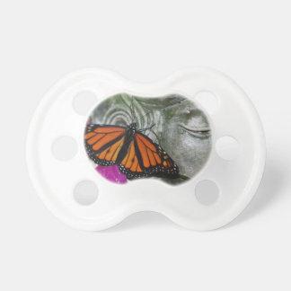 Monarch Butterfly on Kwan Yin Pacifier