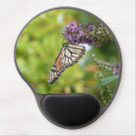 Monarch Butterfly on Purple Butterfly Bush Gel Mouse Pad