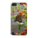 Monarch Butterfly on Red Butterfly Bush iPod Touch 5G Cover