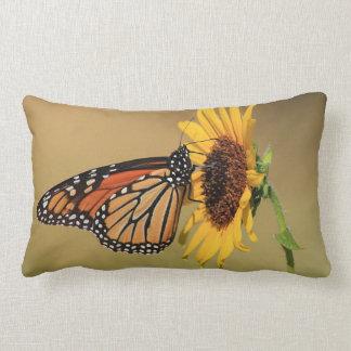 Monarch Butterfly on Sunflower Pillows
