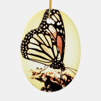 Monarch Butterfly, Orange Ceramic Ornament
