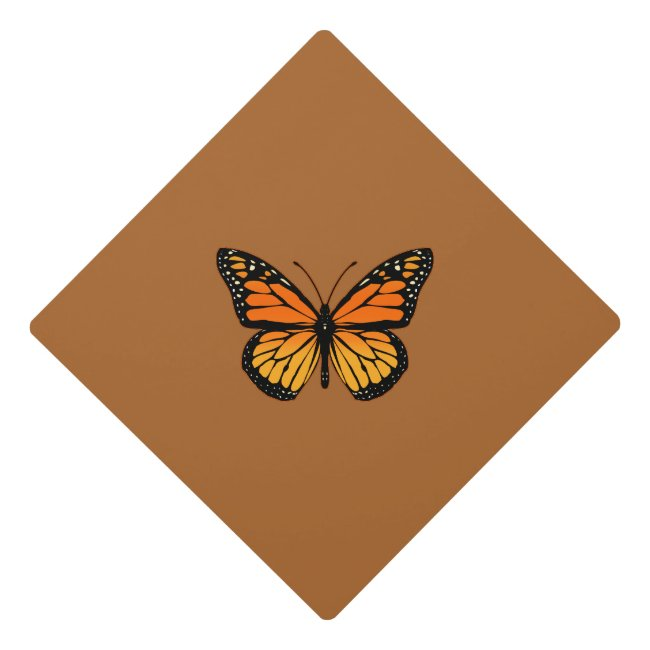Monarch Butterfly Original Graduation Cap Topper