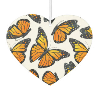 Monarch Butterfly Pattern Air Freshener