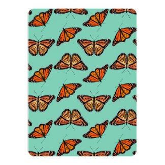 Monarch Butterfly Pattern Card