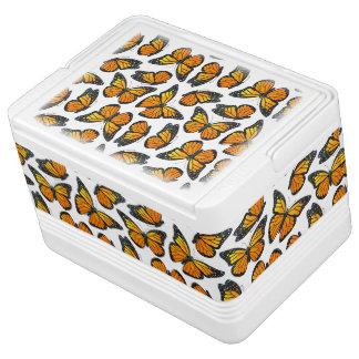Monarch Butterfly Pattern Igloo Drink Cooler