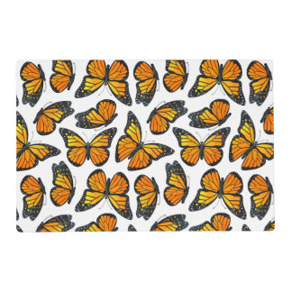 Monarch Butterfly Pattern Placemat
