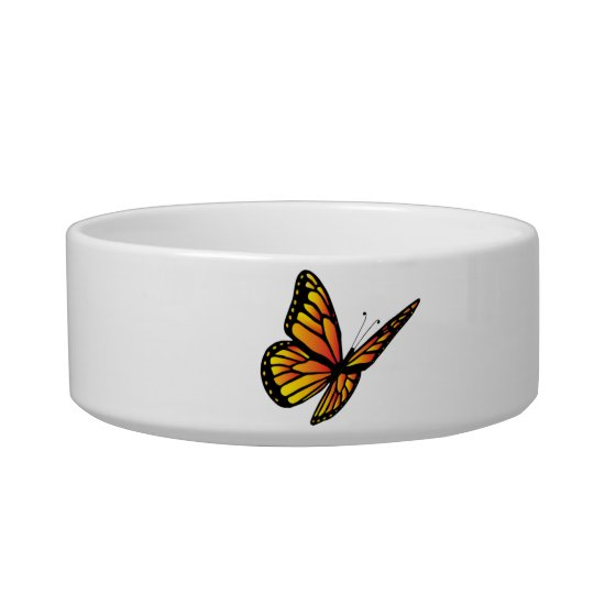 Monarch butterfly Pet Bowls (2) sizes