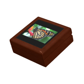 Monarch Butterfly Picture Jewelry Box