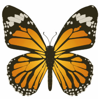 Monarch Butterfly Pin Statuette