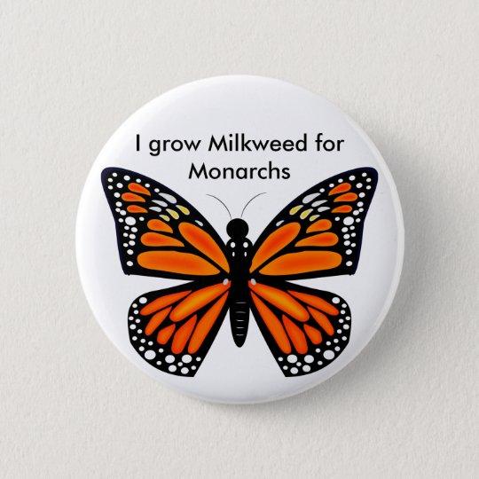 Monarch Butterfly Pinback Button