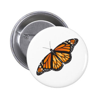 Monarch Butterfly Pinback Button