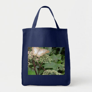 Monarch Butterfly/Platinum Tote Bag