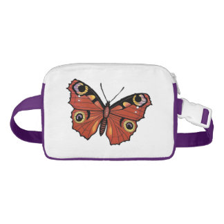 Monarch Butterfly Pretty Autumn Colors Wings Fanny Pack