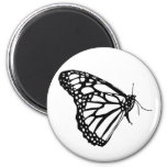 Monarch Butterfly Refrigerator Magnets