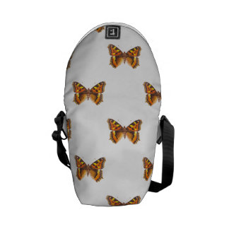Monarch Butterfly Repeating Pattern Courier Bag