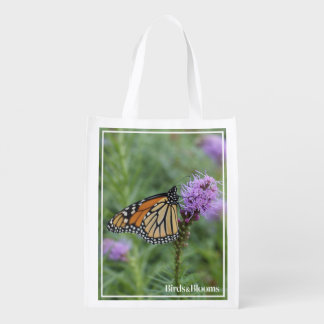 Monarch Butterfly Reusable Grocery Bag