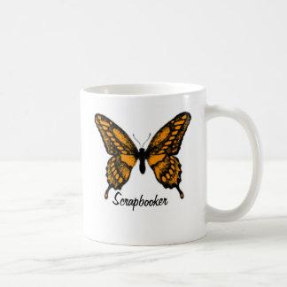 Monarch Butterfly, Scrapbooker Coffee Mug
