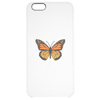 Monarch Butterfly Sensation Clear iPhone 6 Plus Case