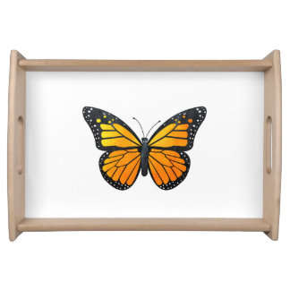 Monarch Butterfly Serving Tray