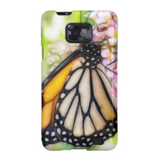 Monarch Butterfly Sipping Nectar Samsung Galaxy Cover