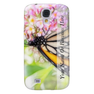 Monarch Butterfly Sipping Nectar Samsung Galaxy S4 Cover
